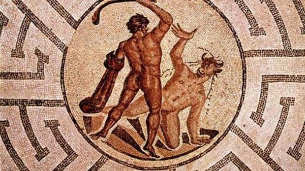 La muerte del Minotauro