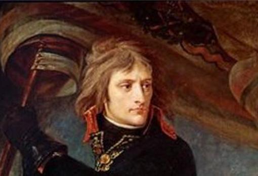 Napoleón, durante la primera parte de su vida como militar