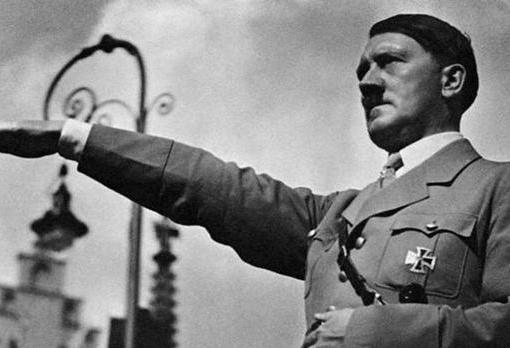 Adolf Hitler, durante la contienda