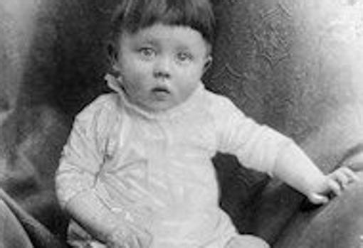 Hitler, durante su niñez