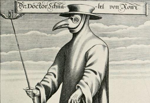 En los siglos XVII y XVIII, algunos doctores utilizaron máscaras que parecían picos de aves llenas de artículos aromáticos para atender a los enfermeros de la peste.