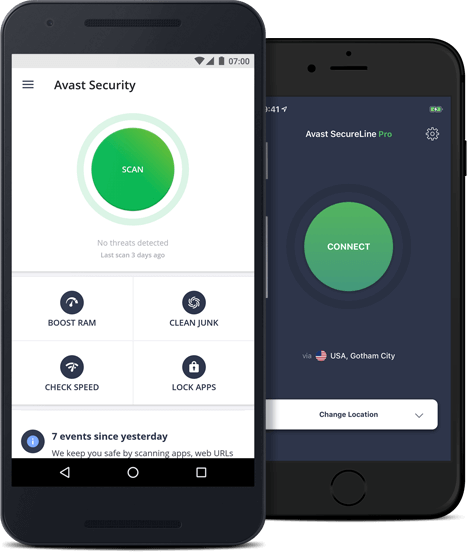 Free Download Security Avast Mobile