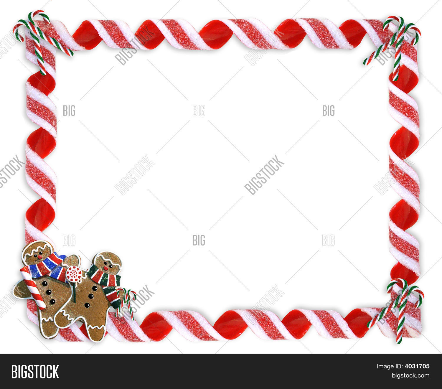Christmas Frame Candy Image Amp Photo Free Trial