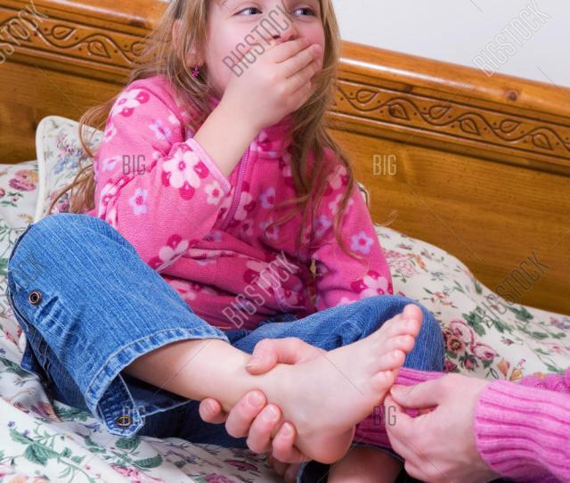 Ticklish Foot
