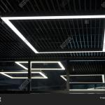 Modern Office Lighting Image Photo Free Trial Bigstock