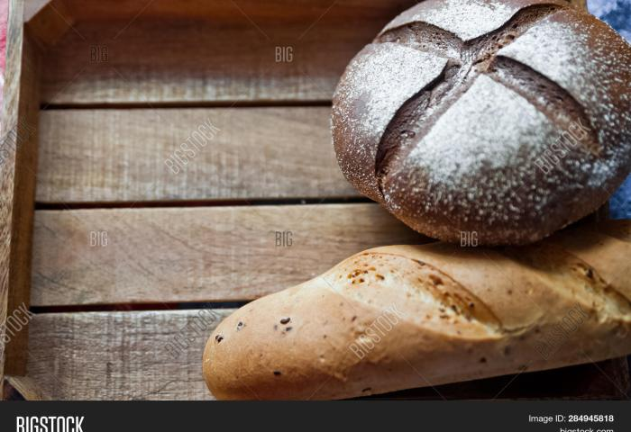 Sliced Baguette Round Image Photo Free Trial Bigstock