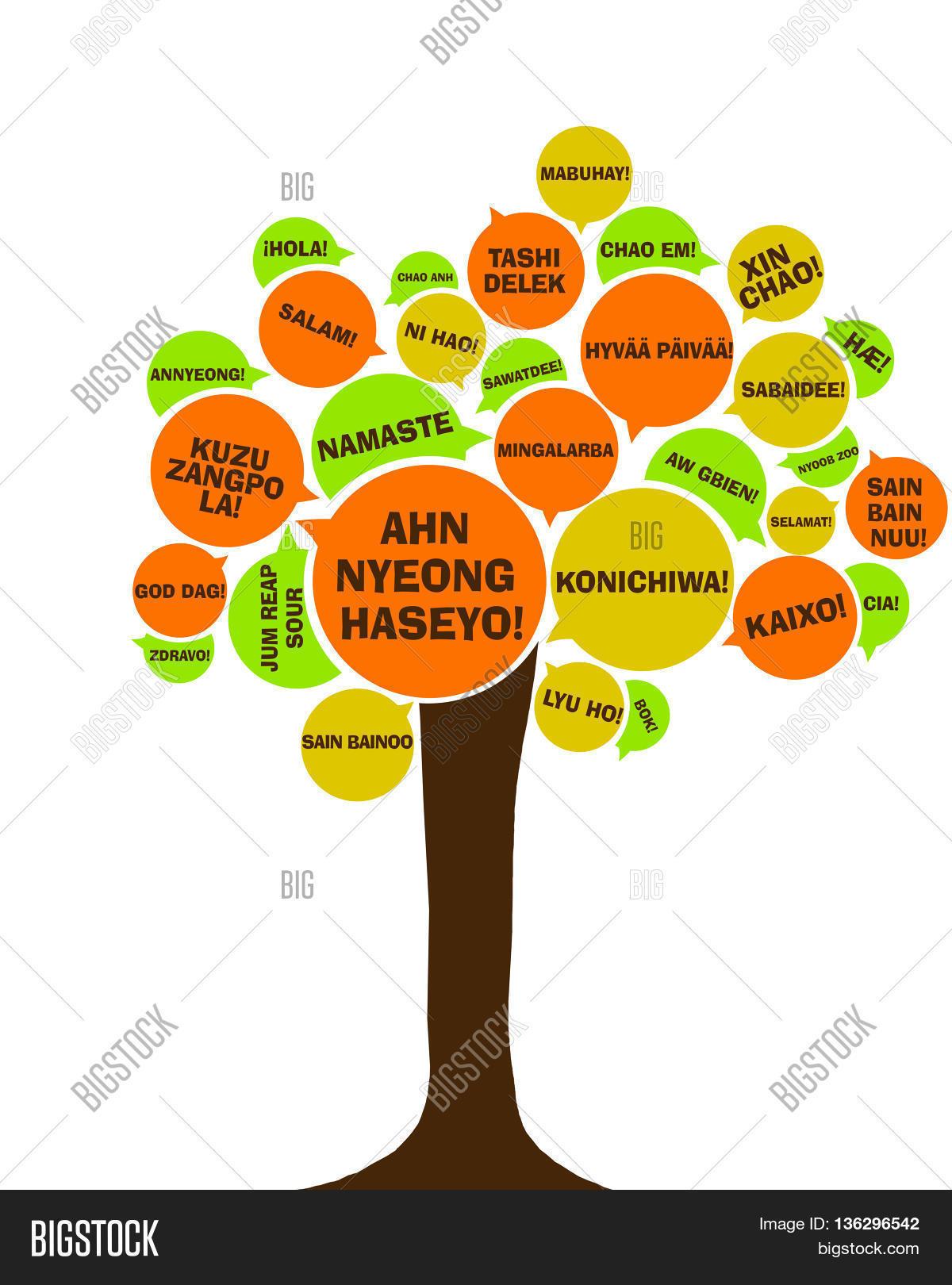 Asian Language Tree Image Amp Photo Free Trial