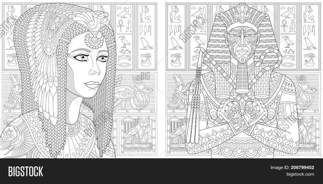 Coloring Pages Ancient Image & Photo (Free Trial)  Bigstock