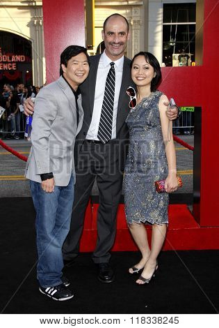 Ken Jeong Wife Tran Image Amp Photo Free Trial Bigstock