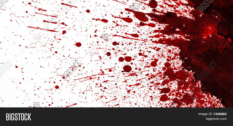 Blood Stain Image & Photo | Bigstock