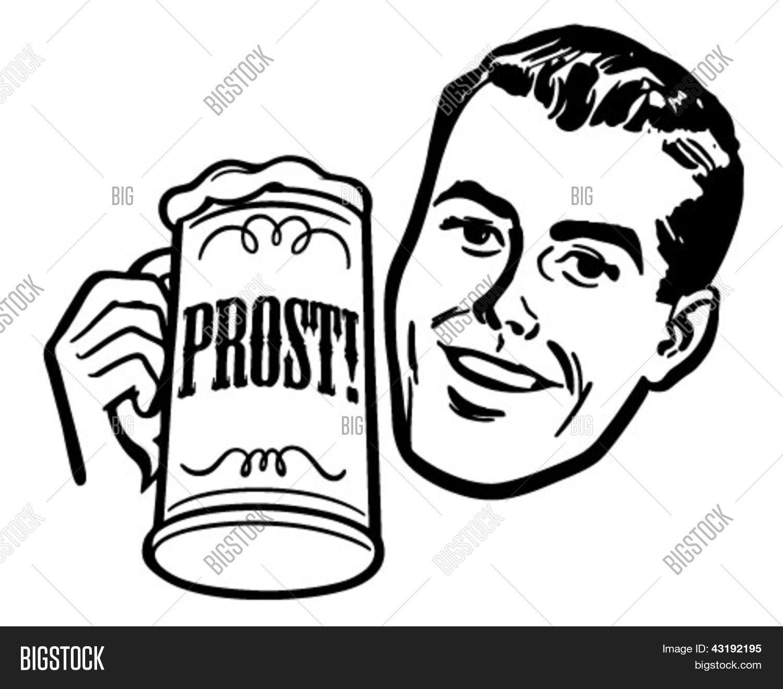 Man Beer Stein