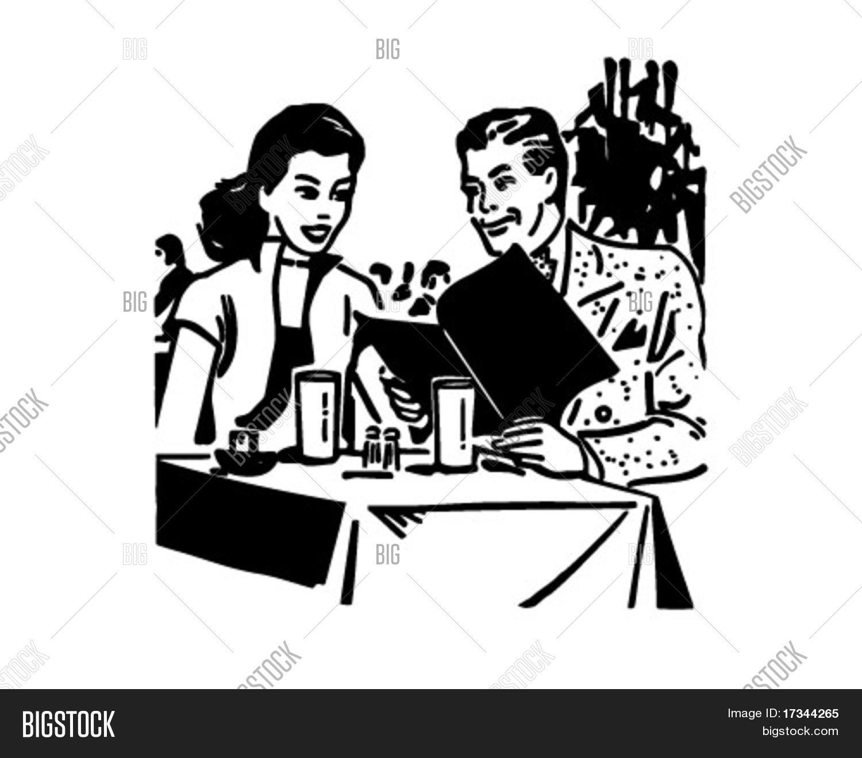 Waitres Clipart