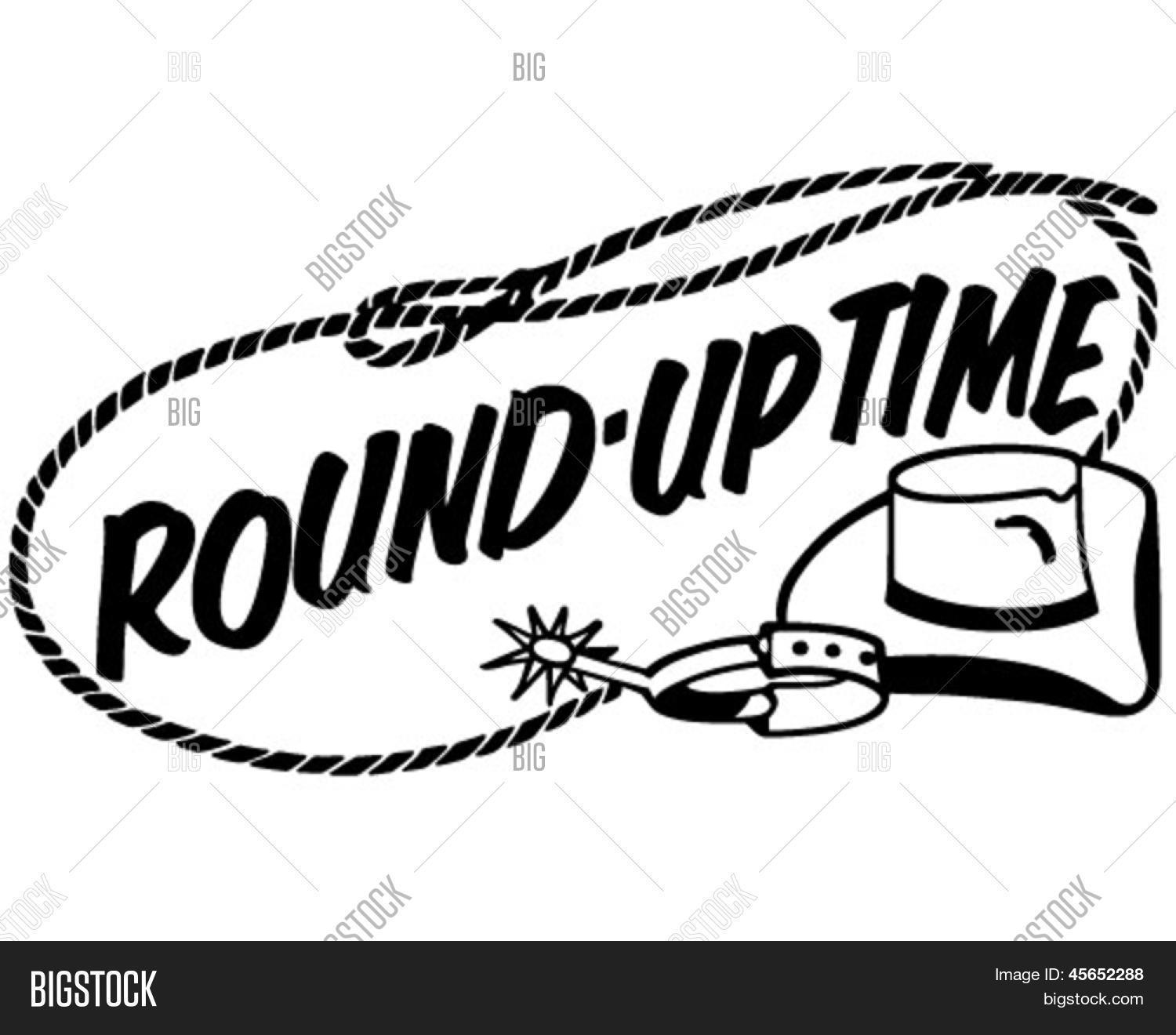 Round Up Time Banner