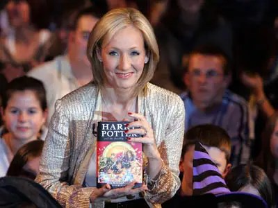 J.K. Rowling was unemployed, divorced and raising a daughter on social security while writing the first Harry Potter novel.