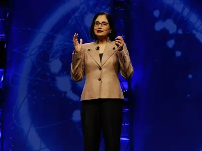 Cisco Chief Technical and Strategy Officer Padmasree Warrior gets a lot done before stepping foot in the office at 8:30 AM.