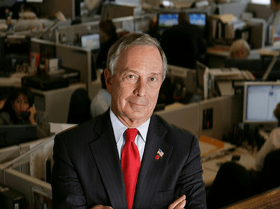 Michael Bloomberg worked as a parking lot attendant.
