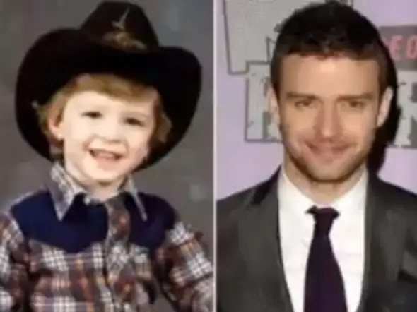 Justin Timberlake sported cowboy gear in this adorable childhood photo.