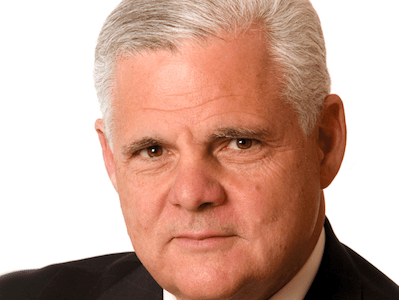 EMC's Joe Tucci: Big ambitions with no signs of slowing down.
