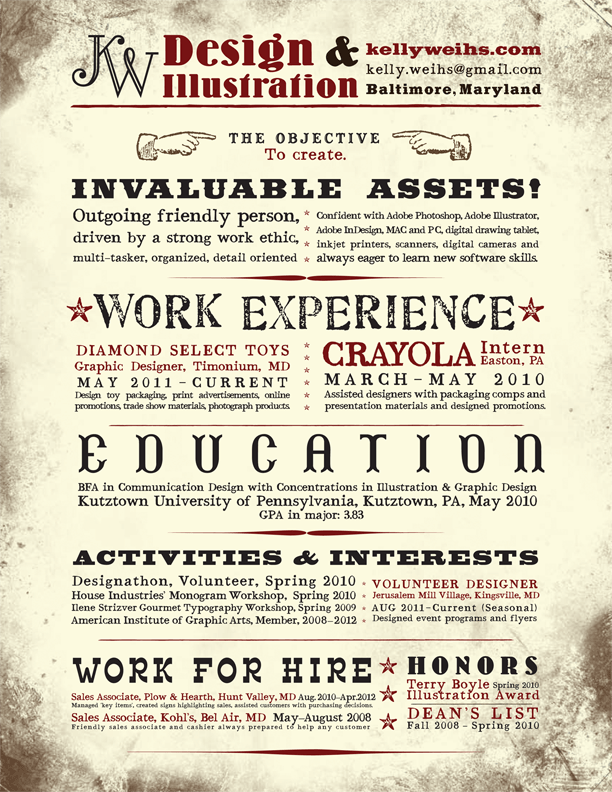 16 most creative resumes we\'ve ever seen | Financial Post
