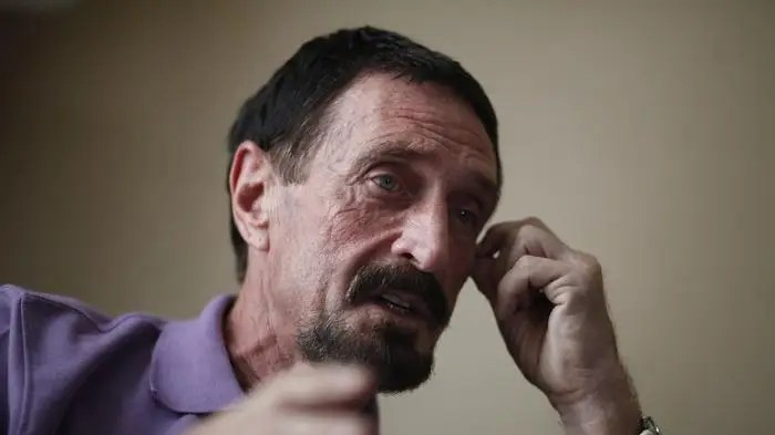 9. John McAfee, suspected of killing his neighbor
