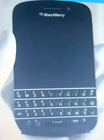 blackbery n series phone with keyboard