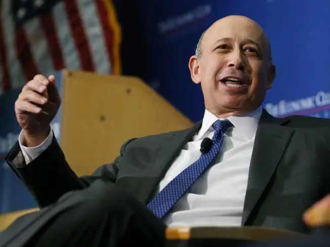 Lloyd Blankfein was an unhappy lawyer.