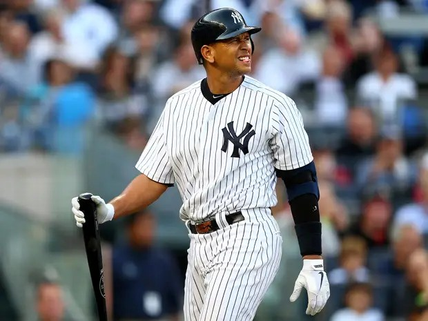 #2 Alex Rodriguez, New York Yankees