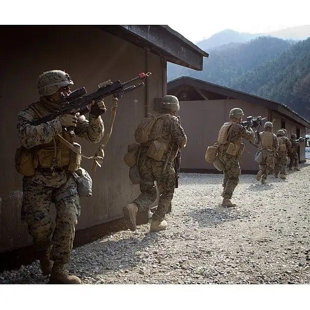 Amphibious: The Marine Corps prides itself on sea to surface operations.