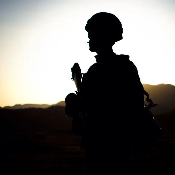 Morning, noon and night. Once a Marine, always a Marine.