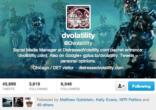 dvolatility