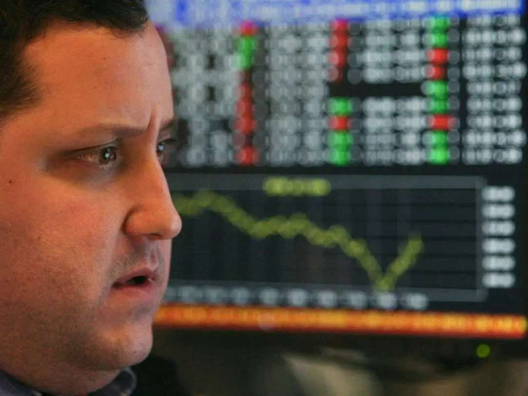 OCT 15, 2008: The stock market has another hellish day, plunging 733 points (7.9%).