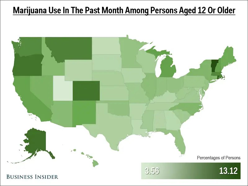 Pot Use Past Month