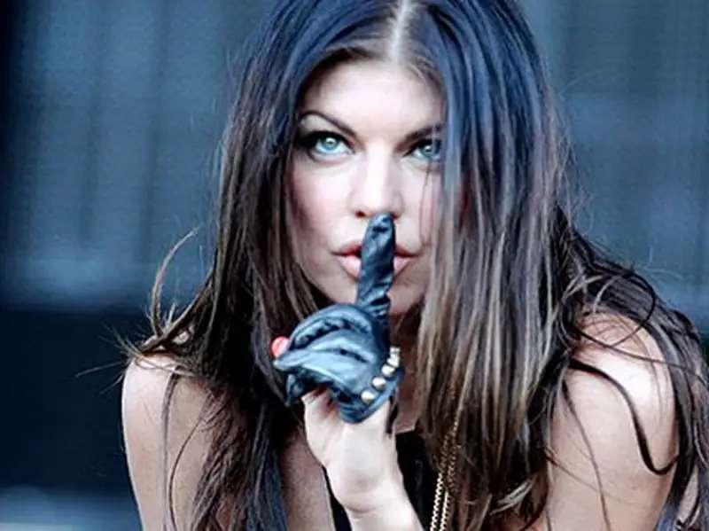 Fergie never misses her daily shot of vinegar.