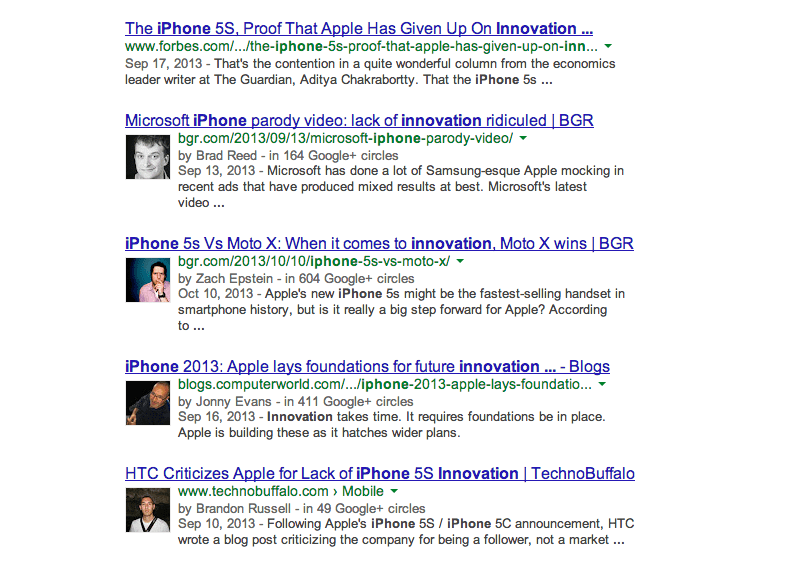 8. The abuse of the word 'innovation' by the tech press whenever Apple unveils new products.