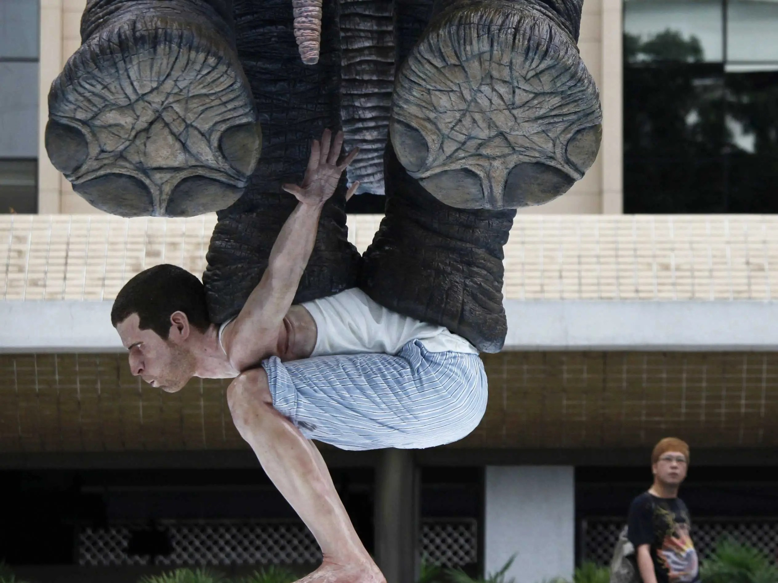estatua de elefante
