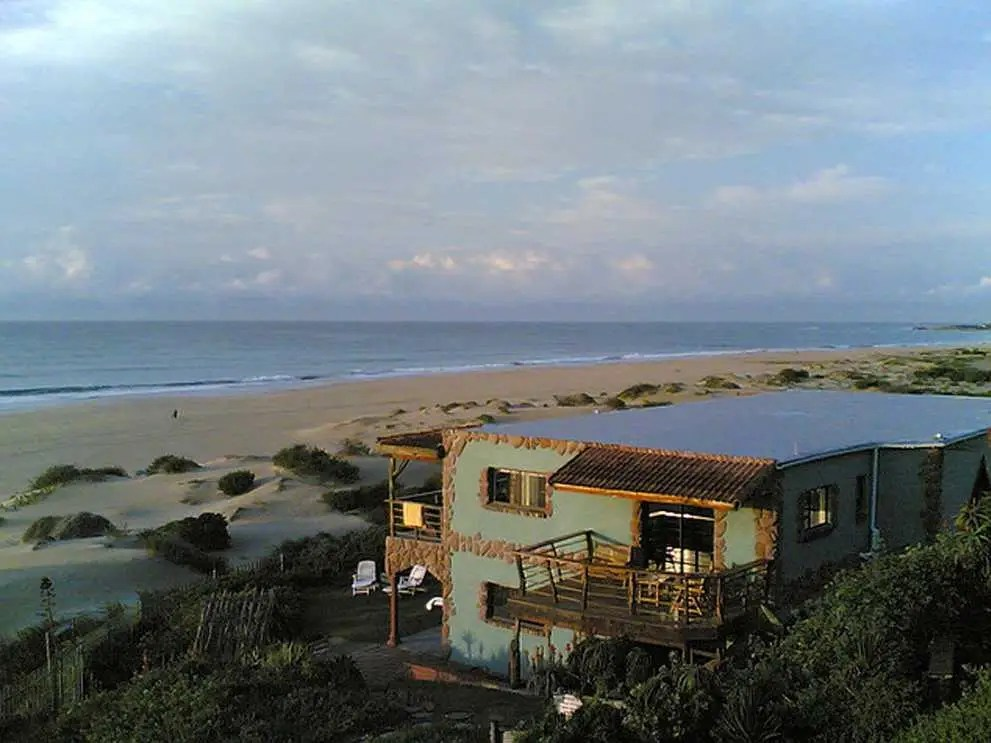 Jeffreys Bay, South Africa is bucket-list material thanks to long stretches of sandy beach and near-perfect right-handers (waves that break from right to left when viewed from the shore).