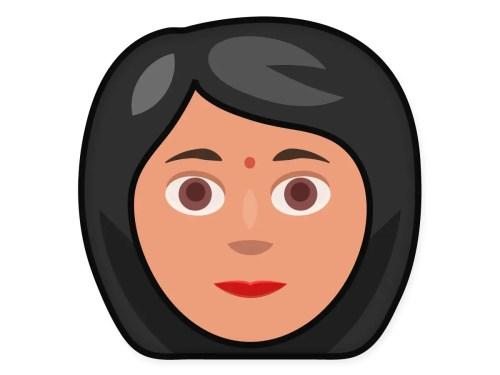 Emoji Indian Woman