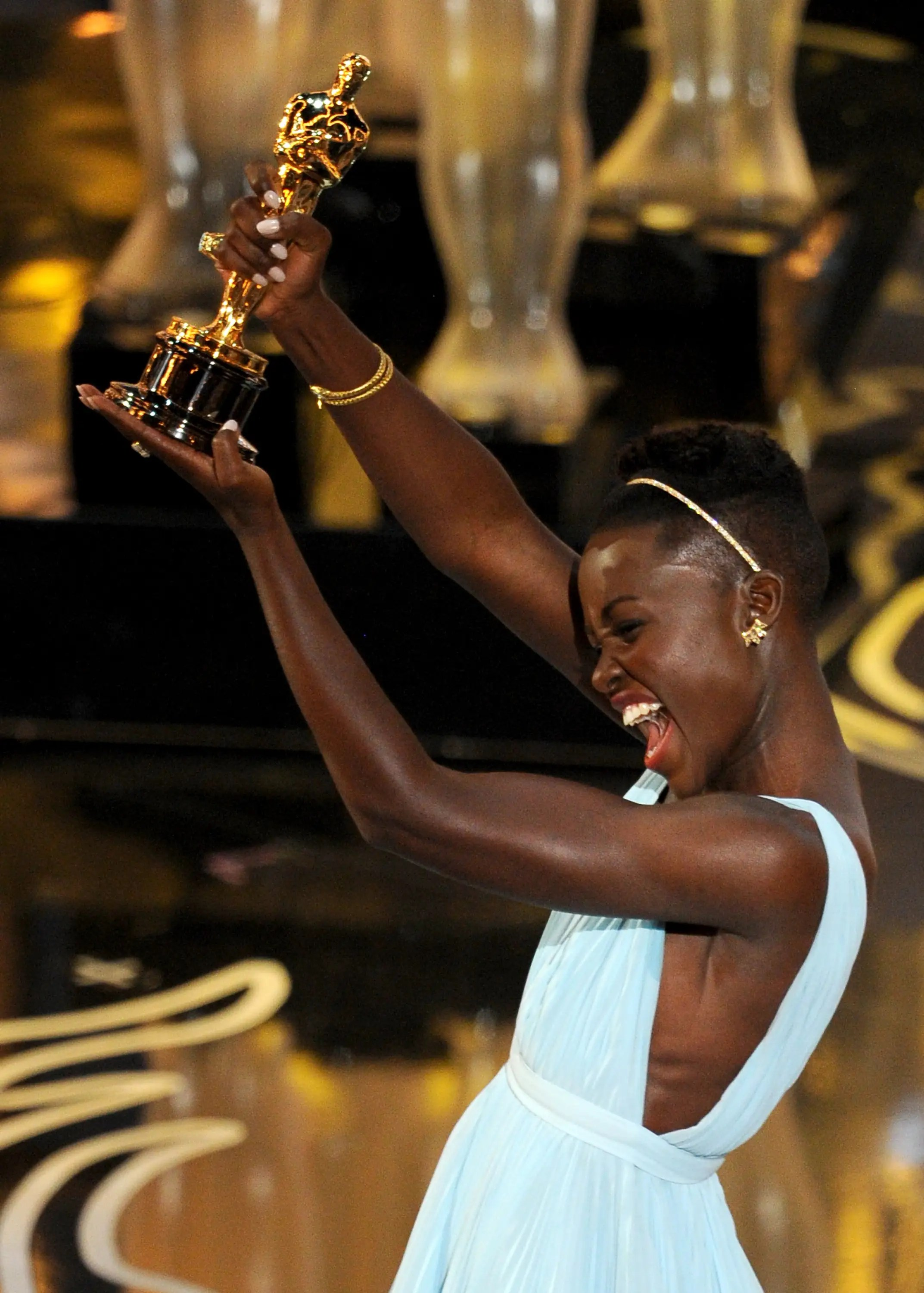 Yes, Lupita, you rock.