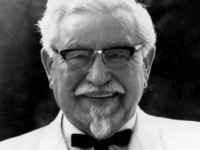 Colonel Harland David Sanders was fired from dozens of jobs before founding a successful restaurant.