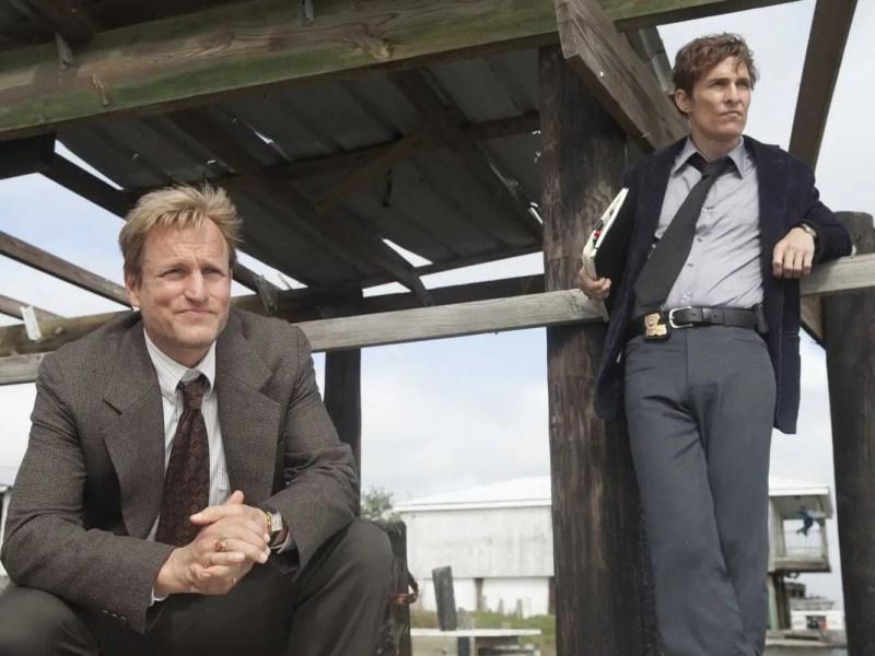Woody Harrelson and Matthew Mcconaughey in True Detective Season 1