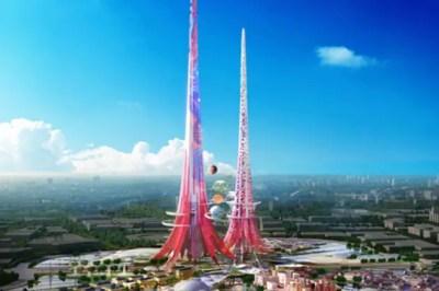 China Phoenix Towers - Business Insider