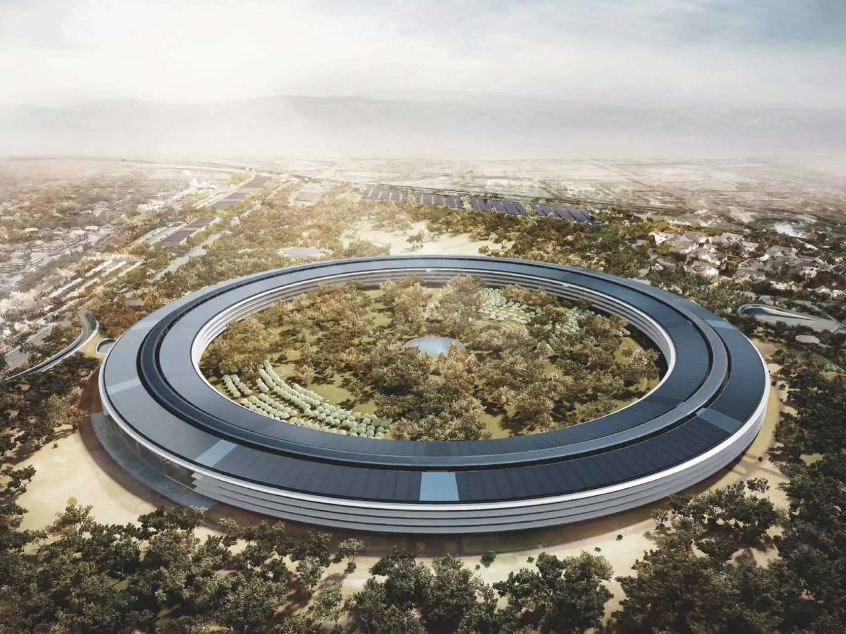 "Buffett has so far donated enough money in his lifetime to build four Apple ""Spaceship"" Campuses."