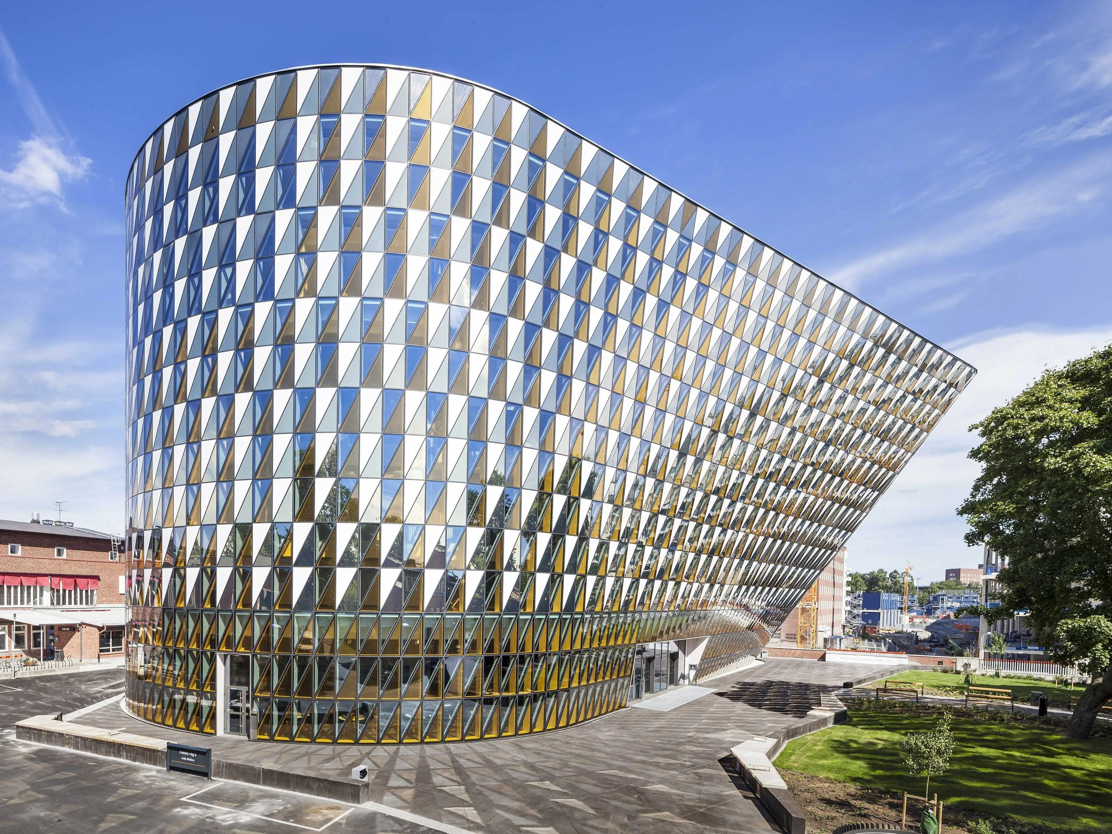 Aula Medica by Wingårdh Arkitektkontor AB, Solna, Sweden (shortlisted in Higher Education and Research)