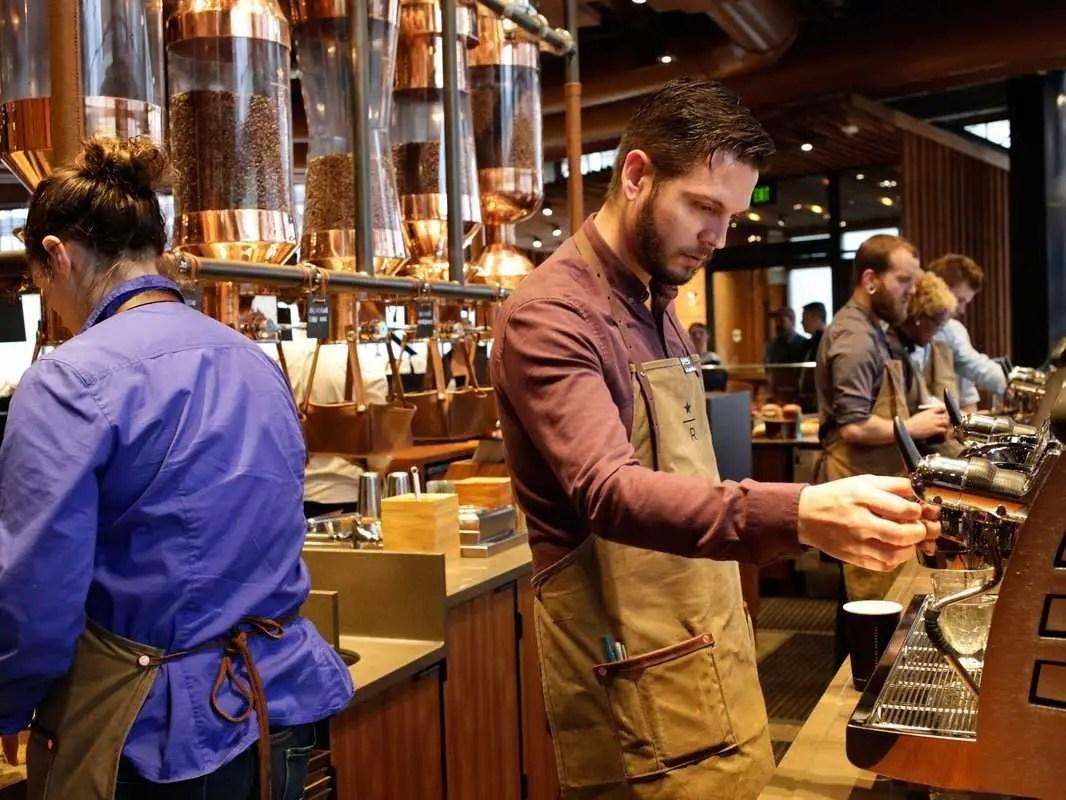 starbucks reserve barista
