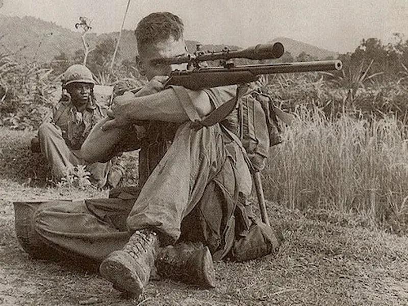 Carlos Hathcock marine sniper