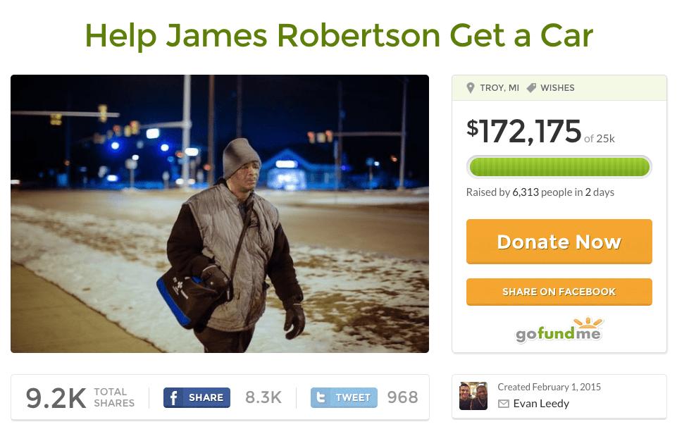 James Robertson Go Fund Me