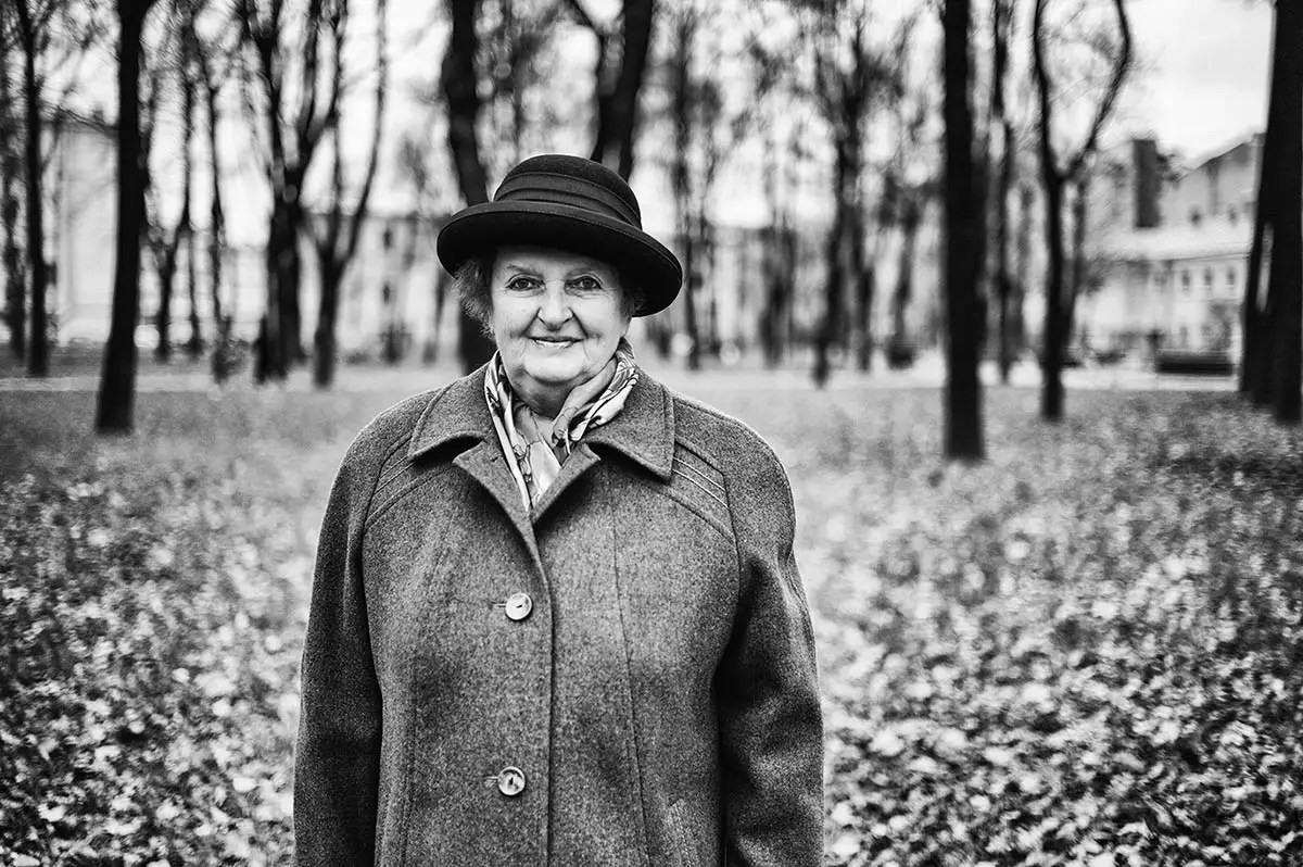 """Svetlana, age 73. Profession: Nurse. Passion or Dream: """"I love my  country house, flowers, and wish to have good health."""""""