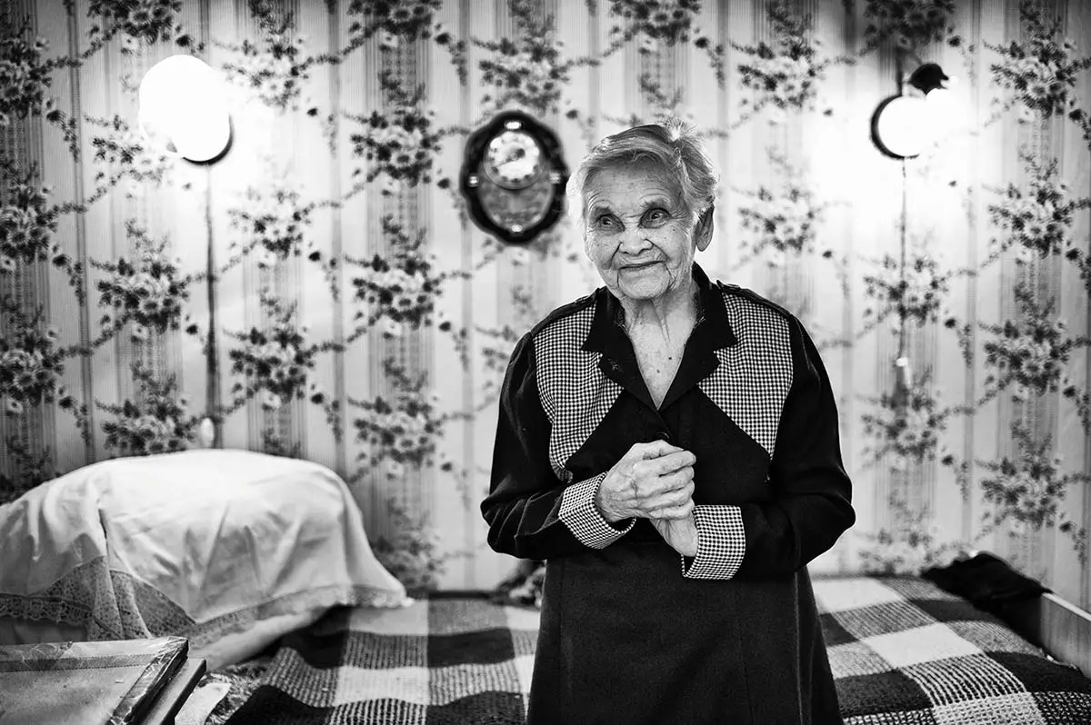 """Alexandra, age 99. Profession: Accountant. Passion or Dream: """"I want to relax."""""""