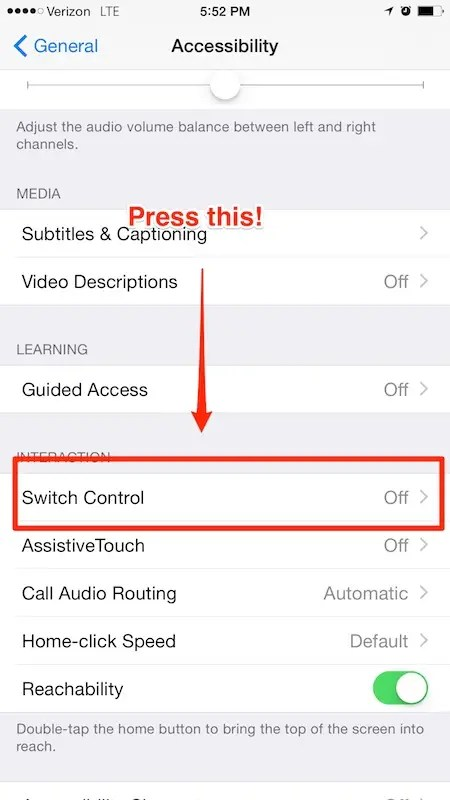 Control your iPhone by simply moving your head.