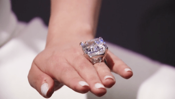 This Perfect 100 Carat Diamond Sold For 22 Million At